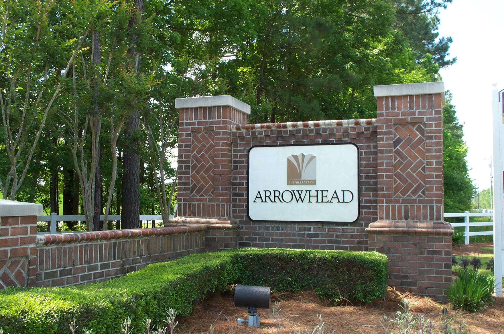 The Villages of Arrowhead - Front Sign