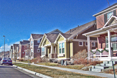 Lowry Neighborhood of Northeast Denver