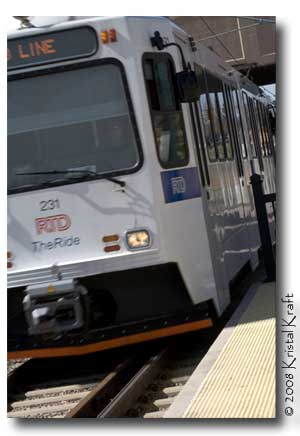 RTD Light Rail - Littleton Colorado