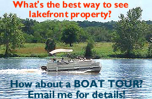Visit Lake Front Homes by Boat!