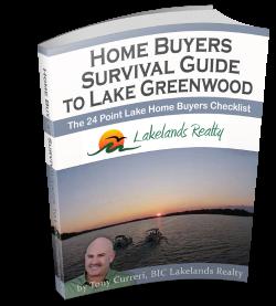 Buy a home on lake greenwood