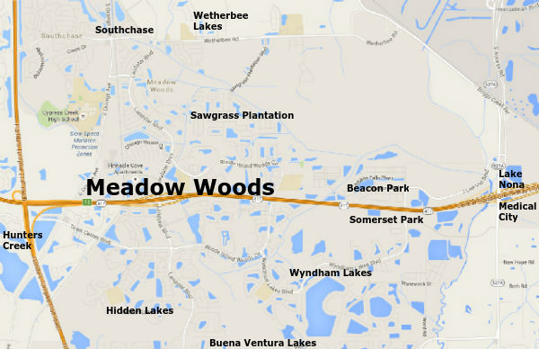 Meadow Woods Map