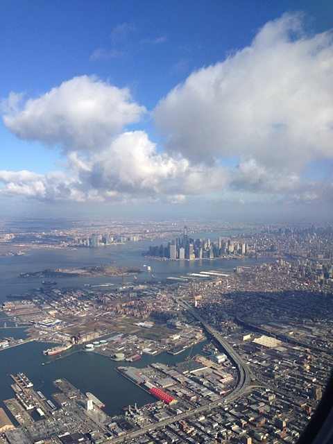 New York from air