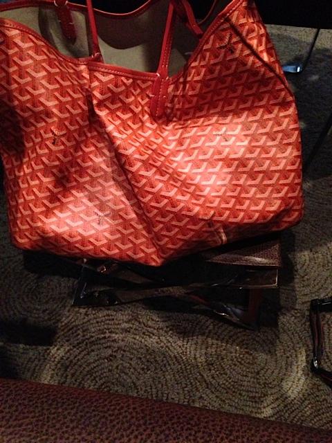 purse stand at le bernardin