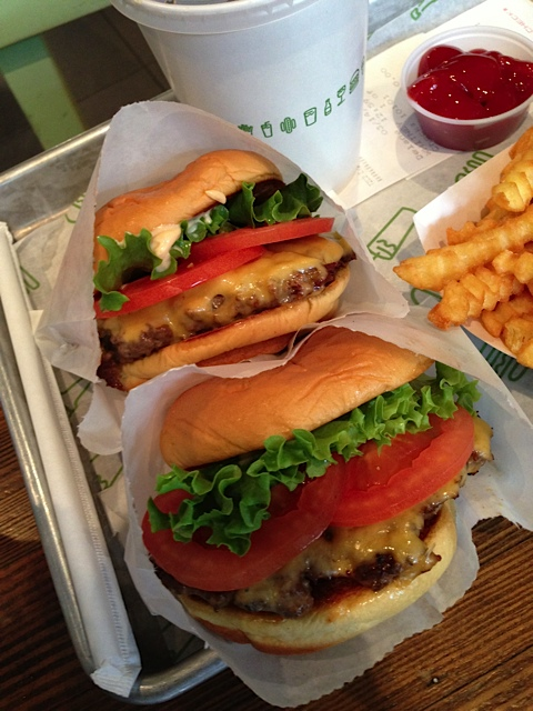 Shake Shake burger