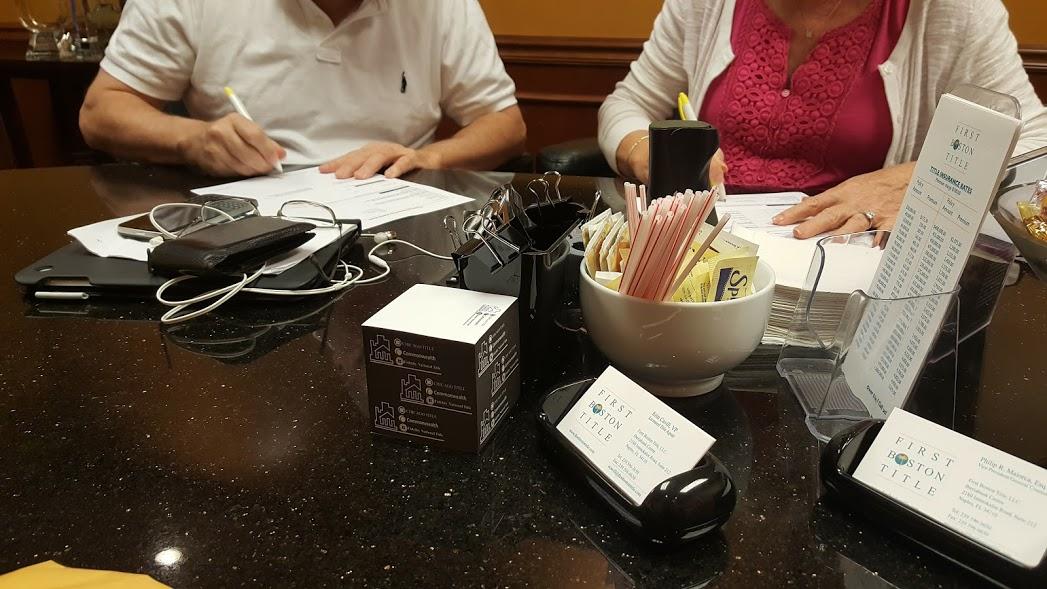 Contract to Closing Time Frame Bonita Springs