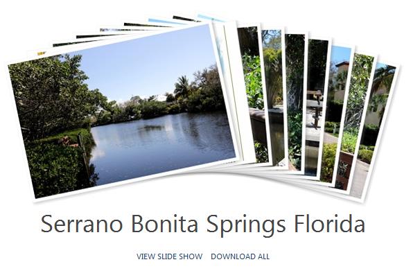 Bonita Springs Serrano Community Album