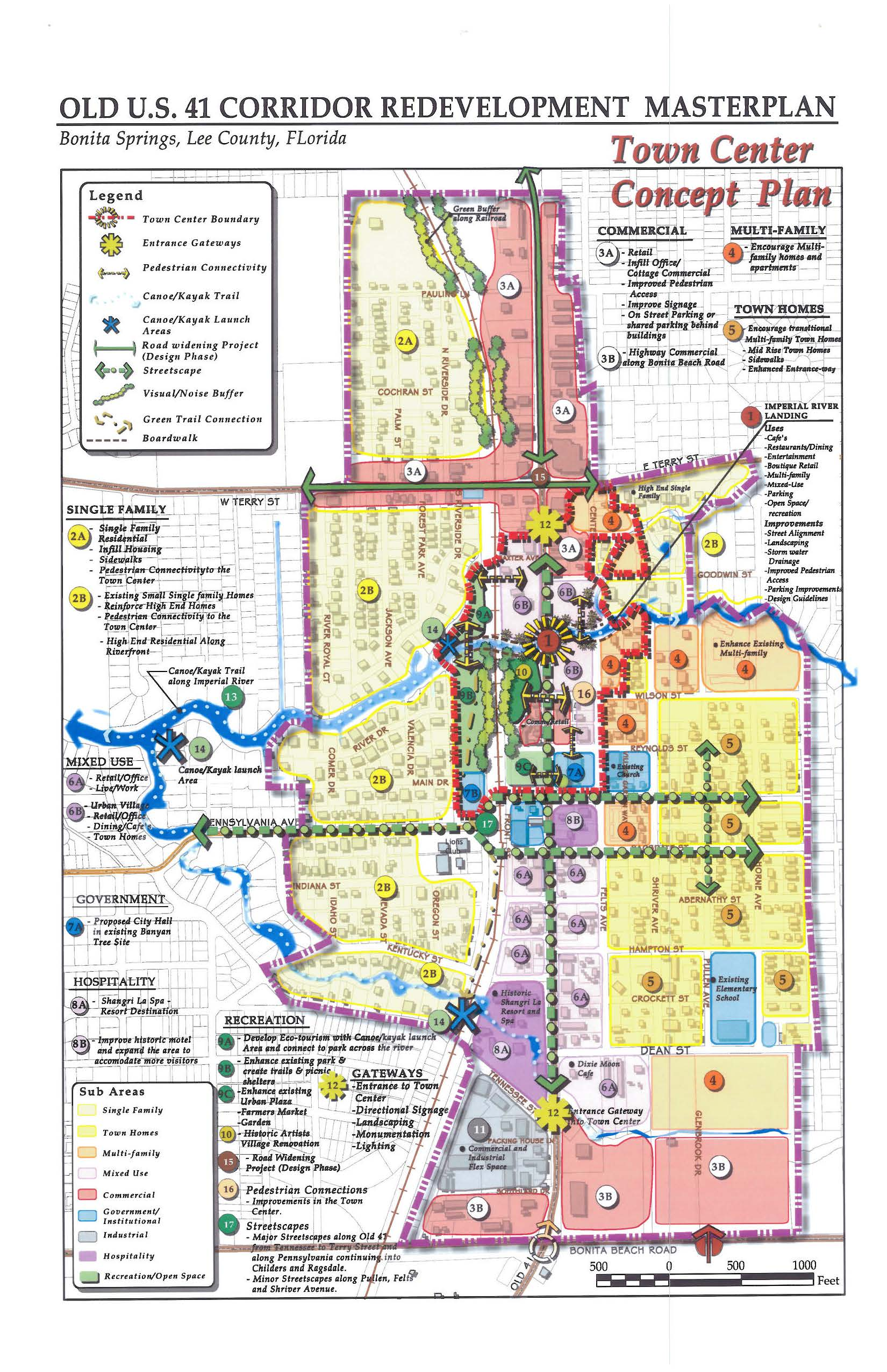 Downtown Bonita Springs Redevelopment Plan