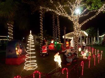 Dripping Christmas Lights