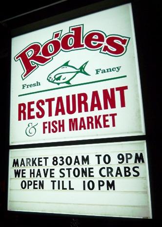 Rodes Restaurant Bonita Springs