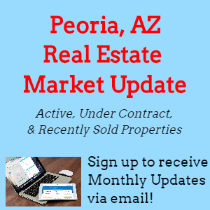 Peoria, AZ Real Estate Market Update