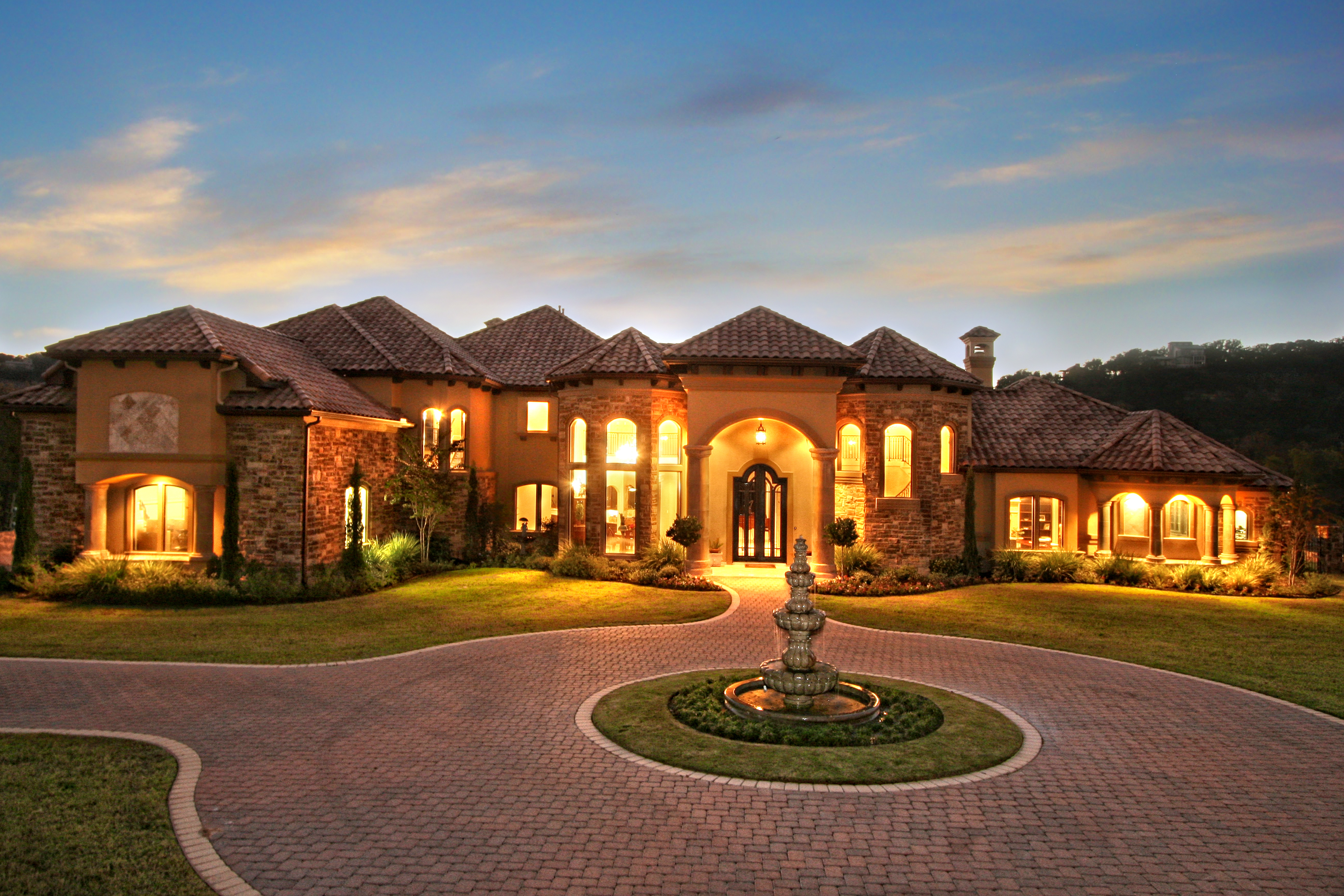 Luxury model homes austin
