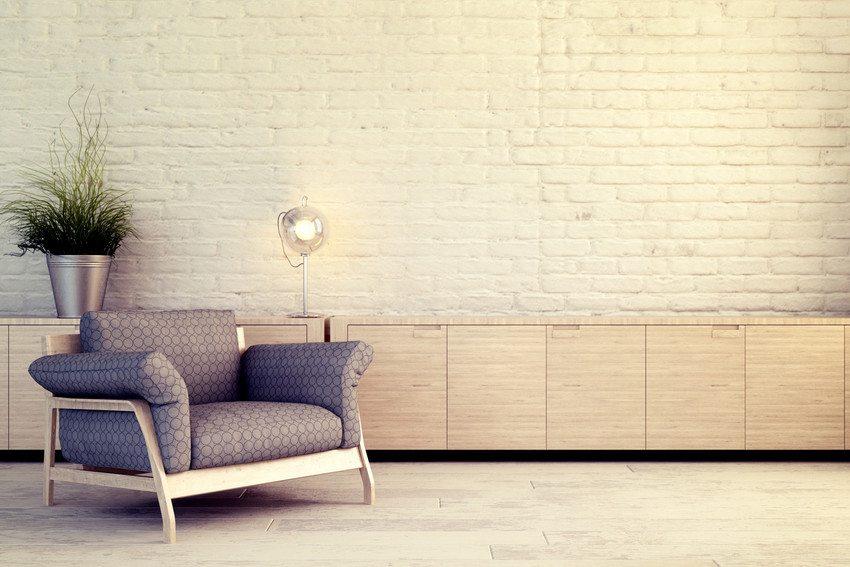 neutral room with light wood floors
