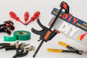 equipment for a do-it-yourself home repair