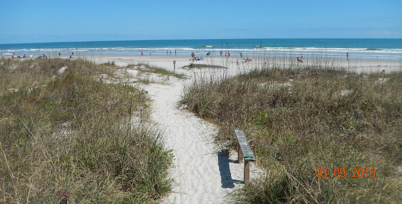 Cocoa Beach Path