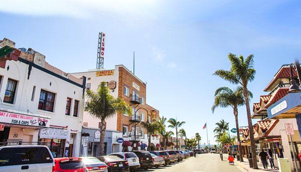 Downtown Pismo Beach