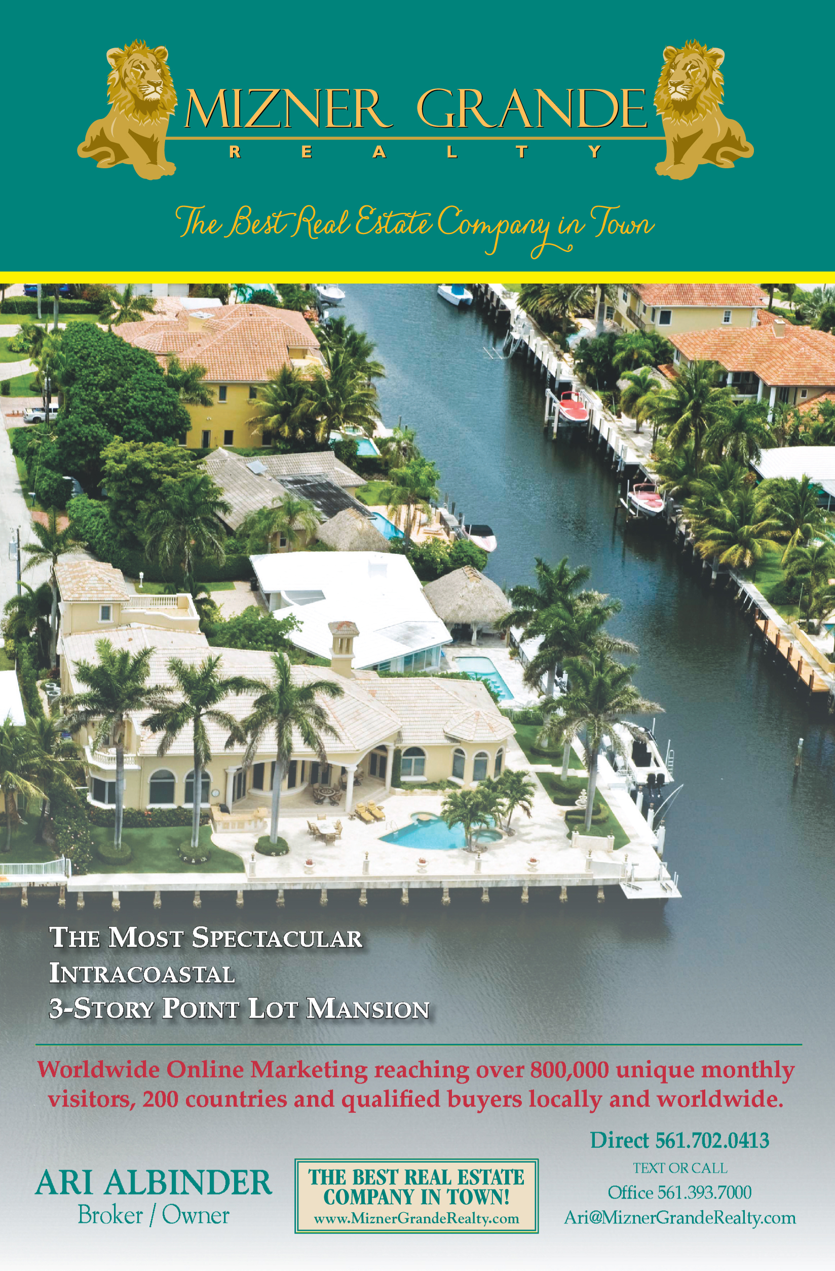 Mizner Grande Luxury Home Ad