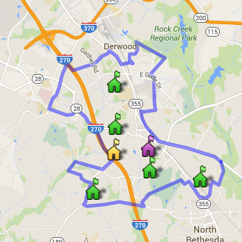 Richard Montgomery Cluster Boundary Map