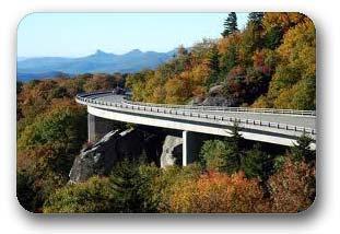 Linn Cove Viaduct - High Country near Boone NC