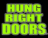 Hung Right Doors