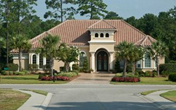 Plantation Lakes Mediterranean Style homes in Myrtle Beach