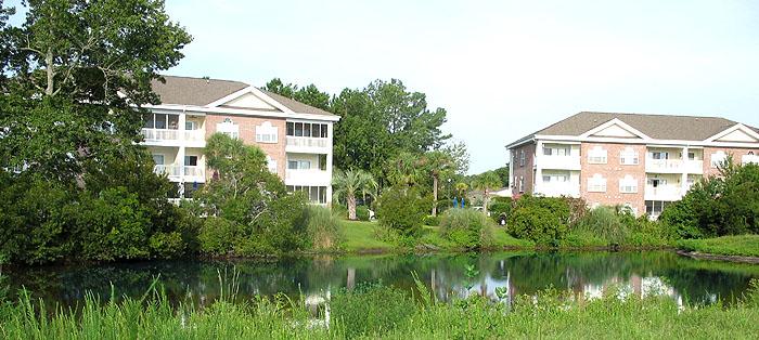 Pond in Cypress Village at The Gardens
