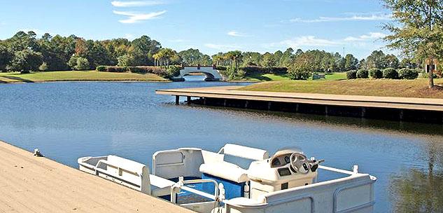 Wild Wing Lakes Boat Docks