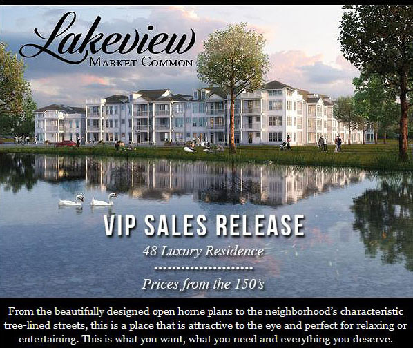 Condos for Sale at Lakeview Market Common