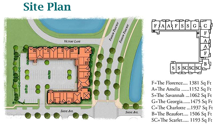 Lakeview at Market Commons Site Plan
