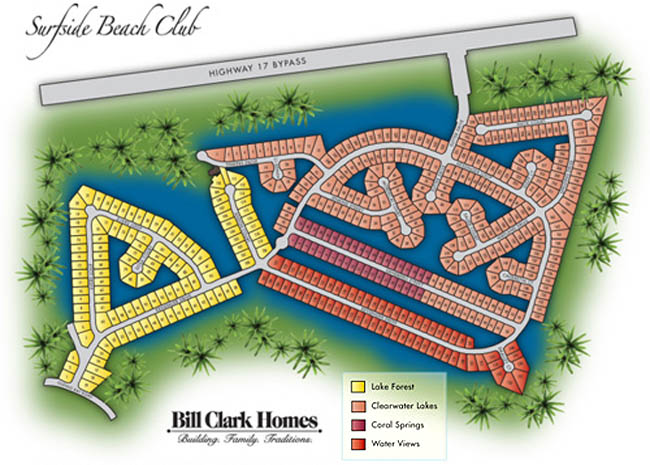 Surfside Beach Club Sitemap