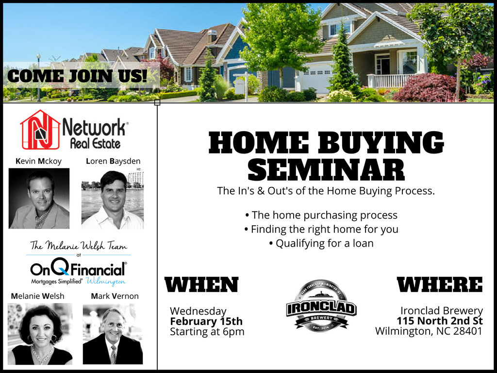Home buying seminar come learn about the home buying process
