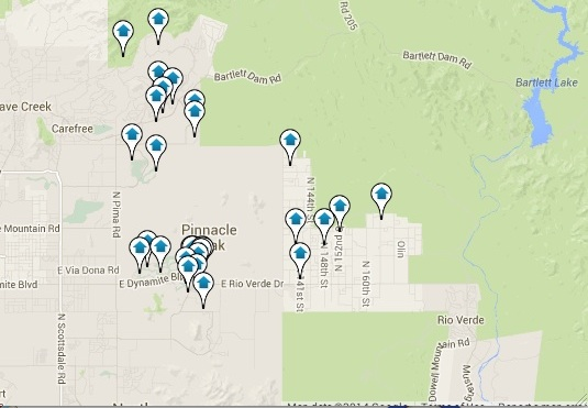 Troon Real Estate for Sale Map Search