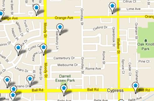 Cypress Map Search
