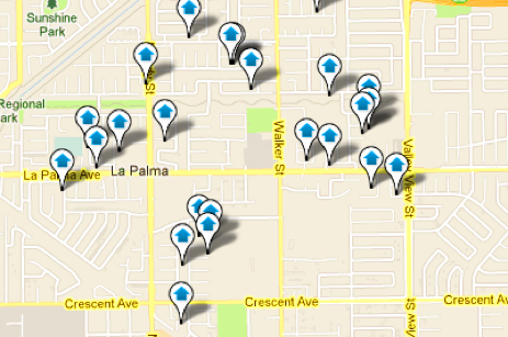La Palma Map Search