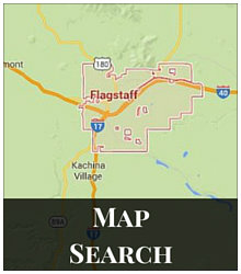 Interactive Map Search of All Flagstaff Homes for Sale