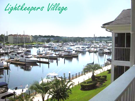 Lightkeepers Village View of Coquina Harbour