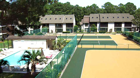 Little River Inn Resort Pool and Tennis Courts