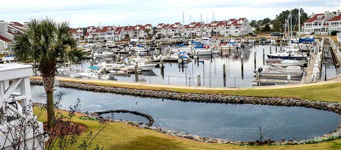 Private Marina in Mariner's Pointe