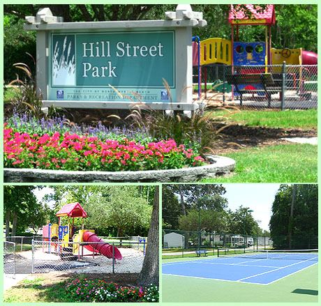 Hill Street Park at Cherry Grove Cottages
