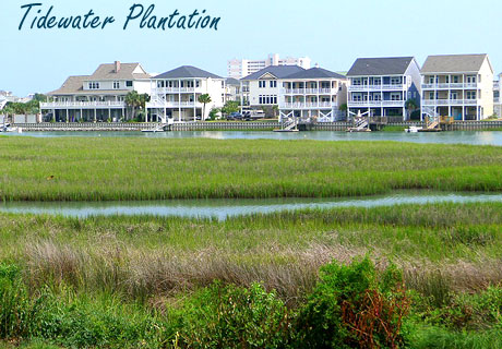 Tidewater Plantation Homes for Sale in North Myrtle Beach