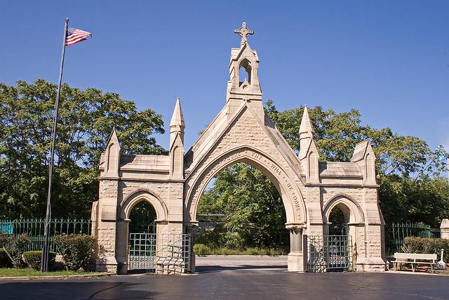 Calvary Cemetery gates