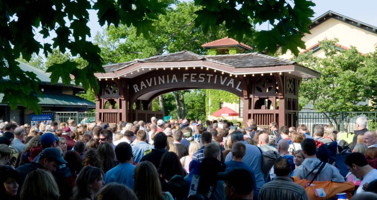 Ravinia Festival gate Highland Park