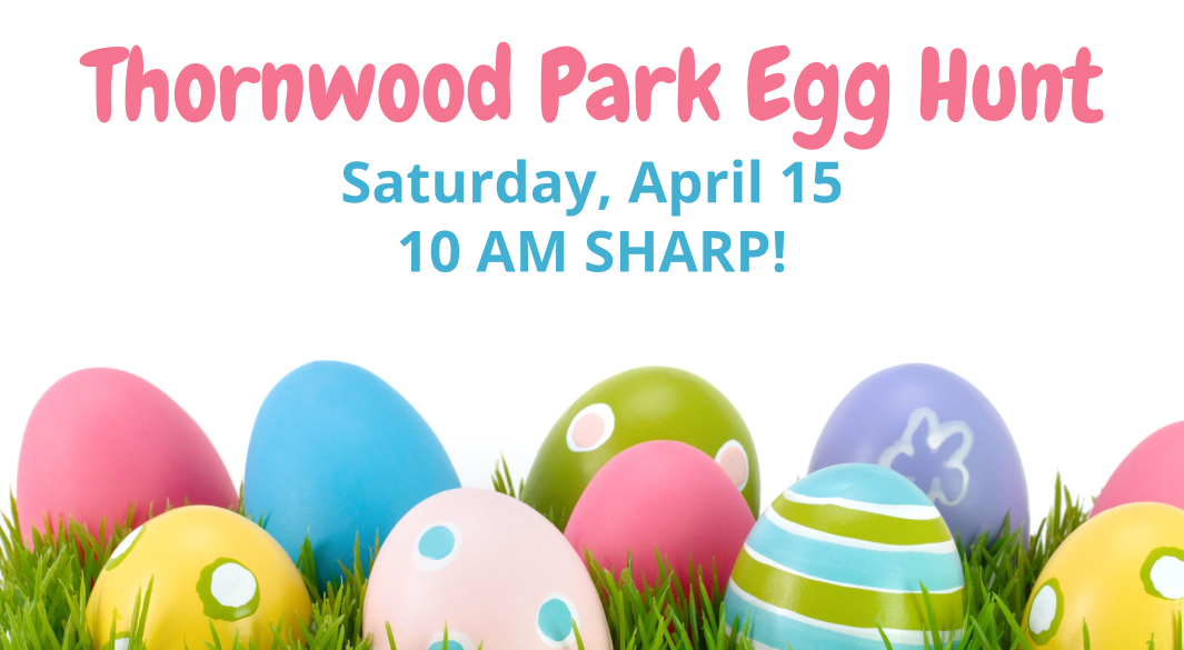 Thornwood Park egg hunt 2017