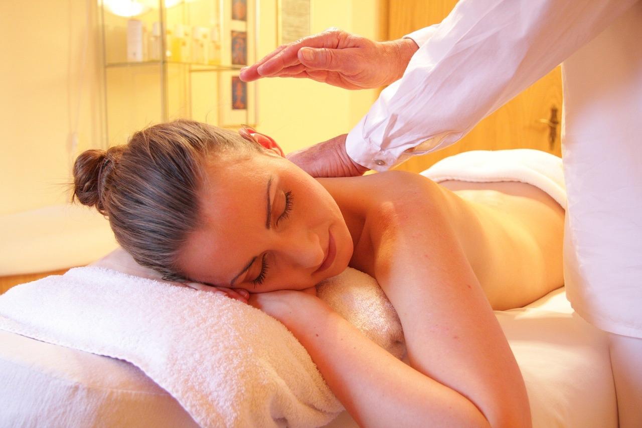 massage at day spa
