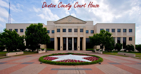 Denton County TX Courthouse
