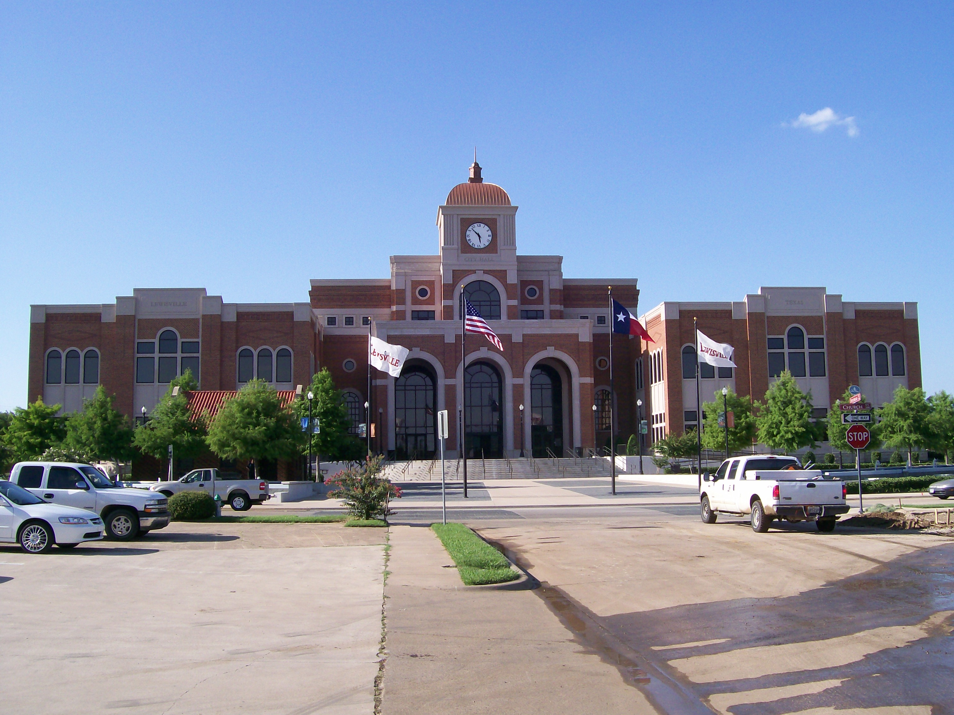 Lewisville Texas Real Estate City Hall