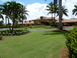 golf clubhouse in Pelican Sound