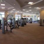 fitness center at Treviso Bay