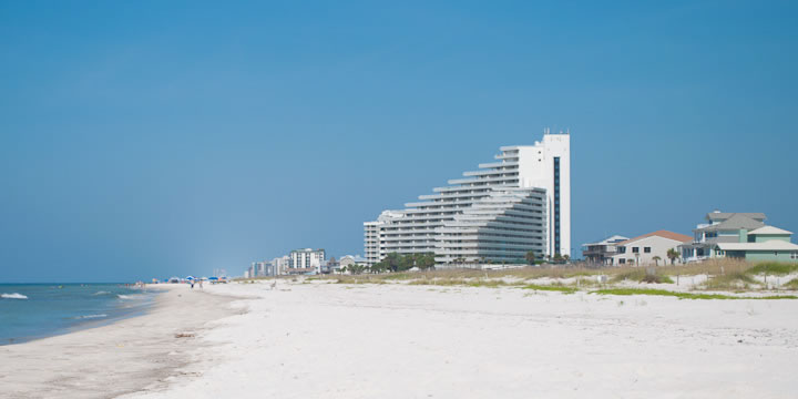 condo on Perdido Key Beach