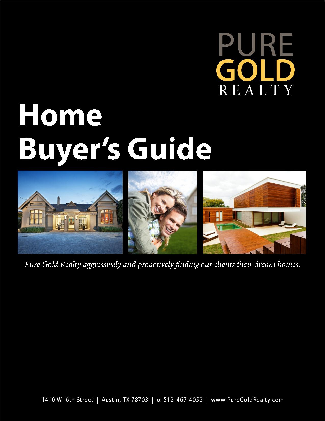 Pure Gold Realty Home Buyer's Guide